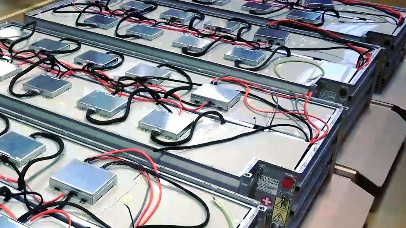 Entwicklung Lithium Batterie serienproduktion